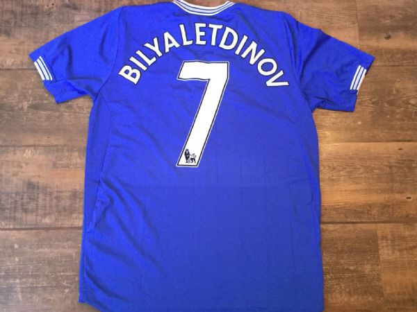 2009 2010 Everton Bilyaletdinov Football Shirt Adults Medium
